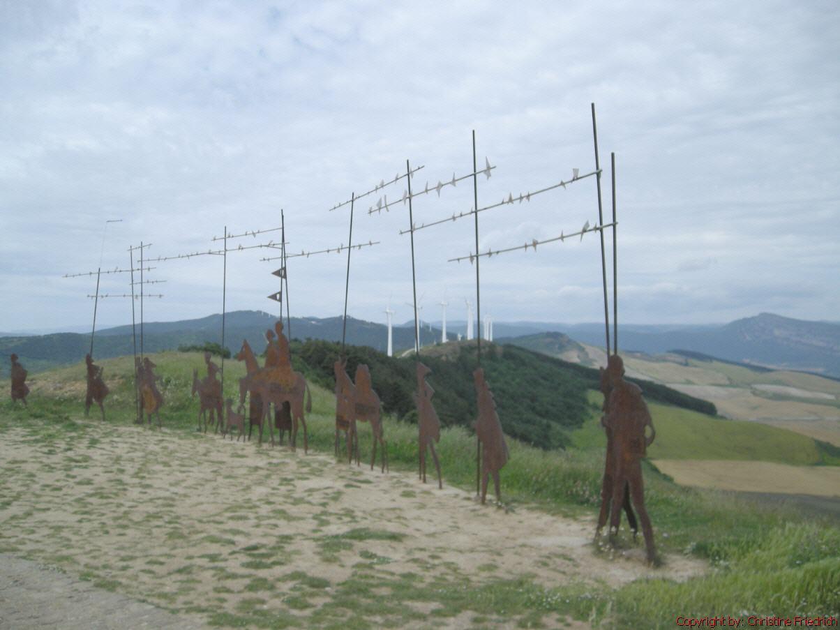 Erinnerungen an den Jakobsweg 2007